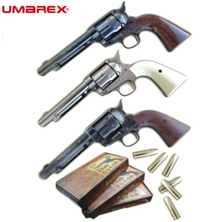 Umarex Colt Single Action Army 45 Peacemaker CO2 BB Air Pistol