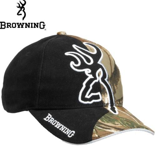 Browning Big Buck half Camo Cap