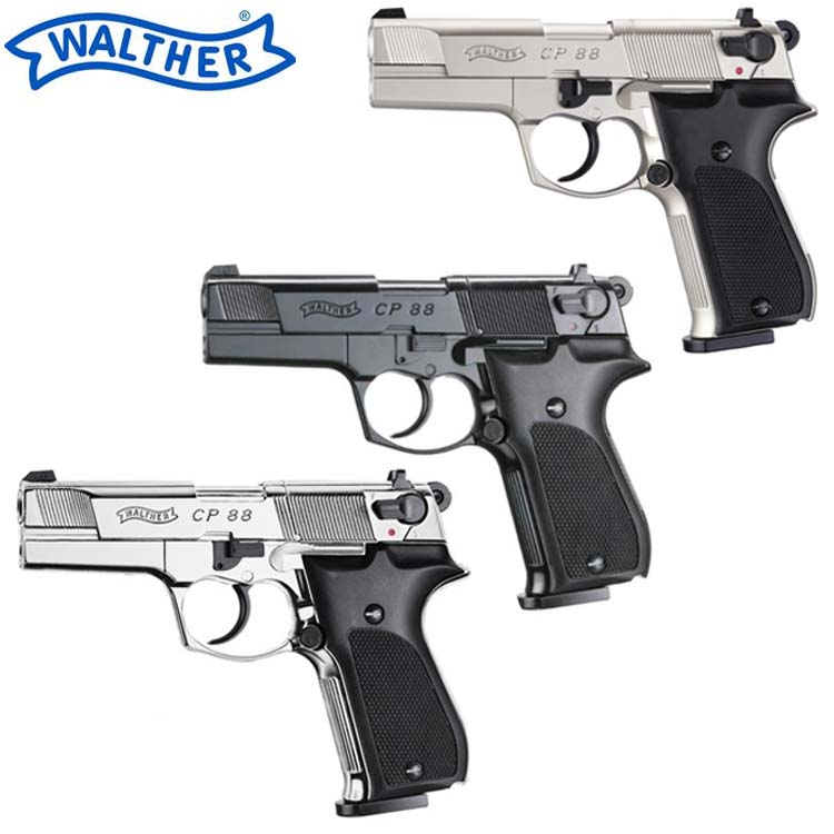 Umarex Walther CP88 4″ CO2 Air Pistols