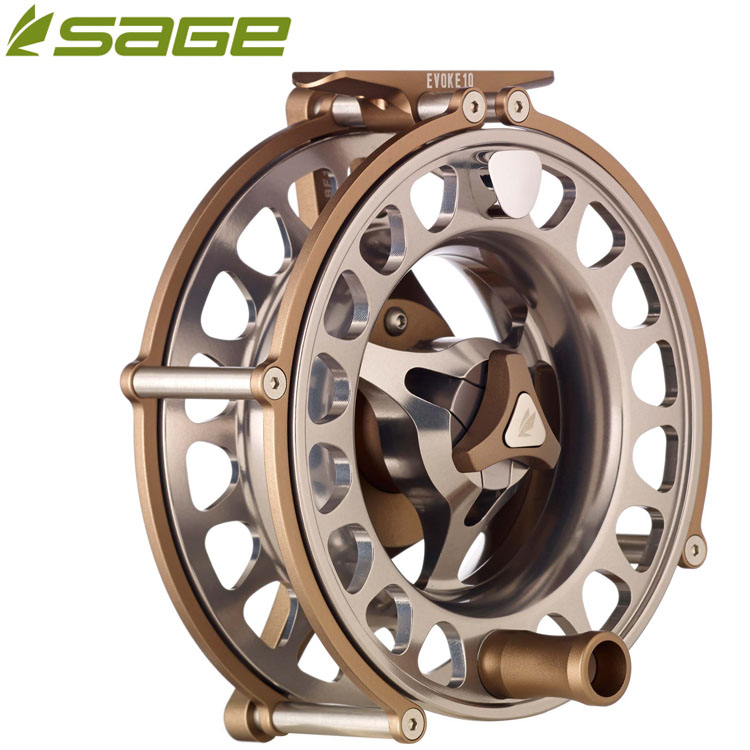 Sage evoke series trout and salmon fly reels bagnall and for Reel steel fishing