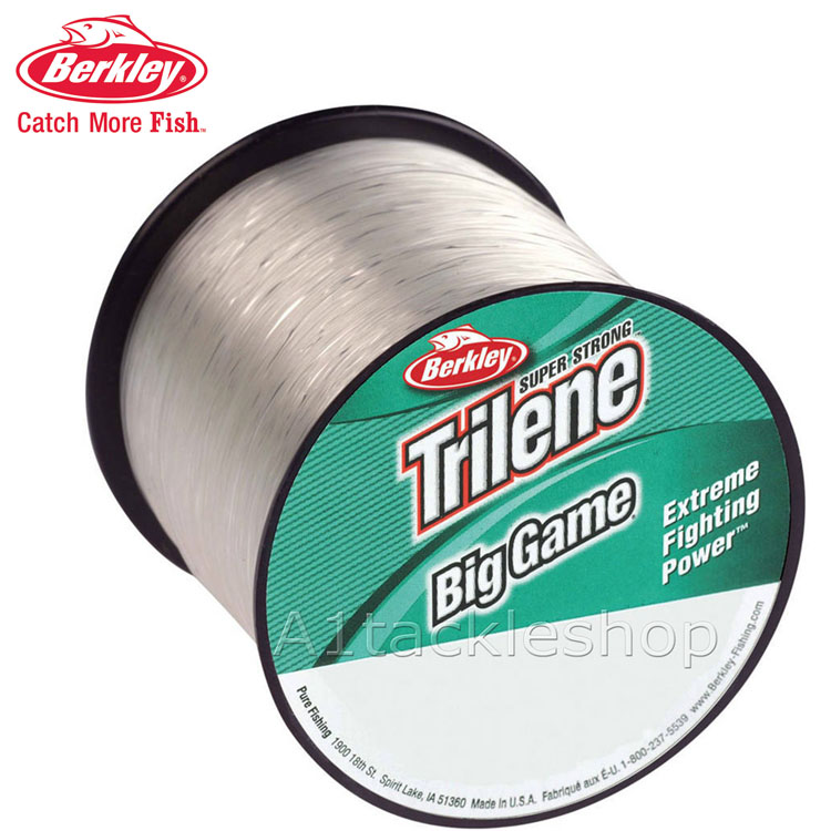 Berkley big game super strong monofilament clear fishing for Strong fishing line