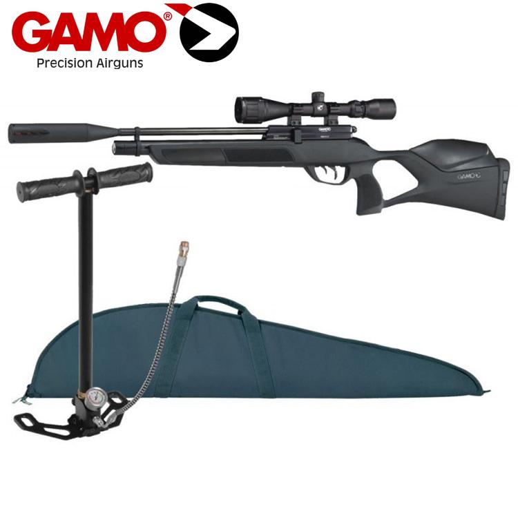 Gamo Phox PCP Air Rifle with Screw on Silencer