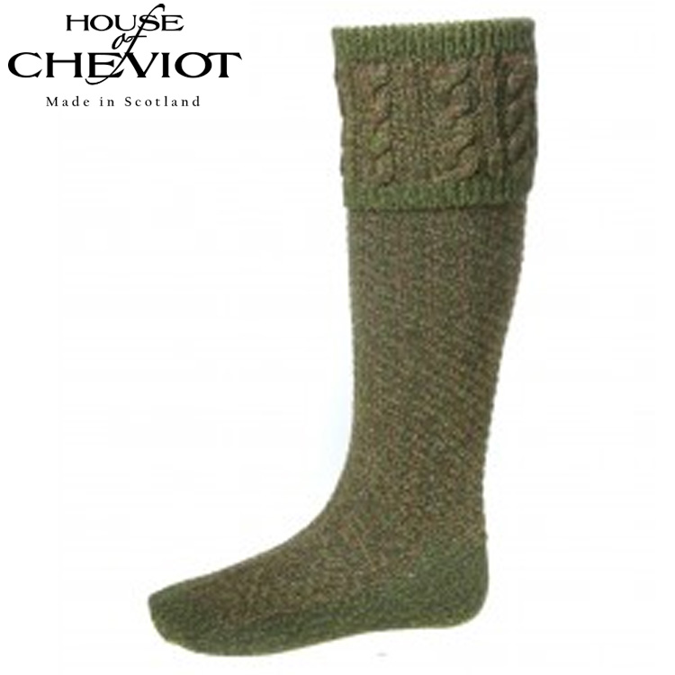 House of Cheviot Reiver Merino Wool Blend Country Socks
