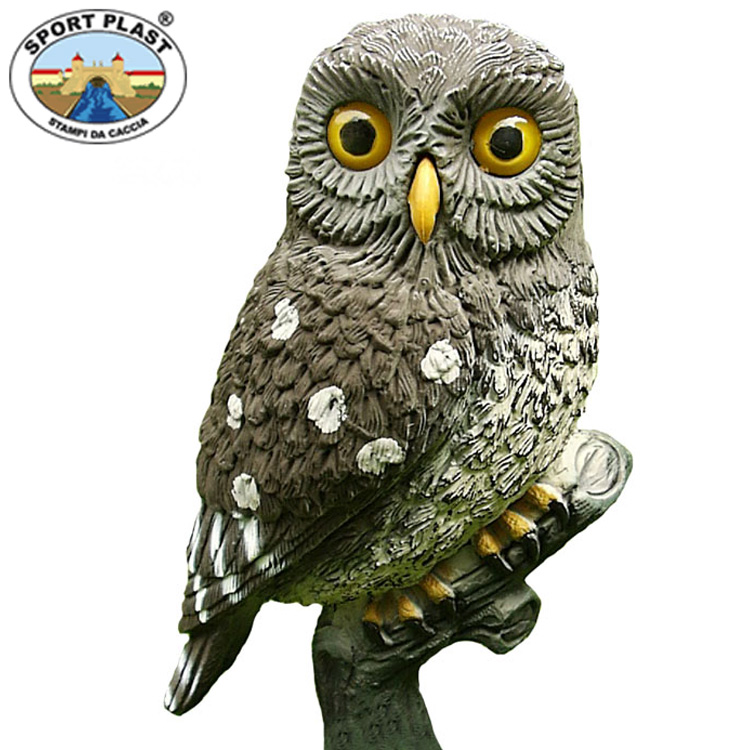 Sport plast little owl decoy bagnall and kirkwood for Owl fish clothing
