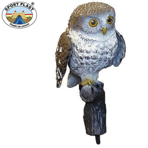 Sport Plast Little Owl with Beating Wings