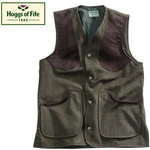 Hoggs Of Fife Harwood Tweed Waistcoat