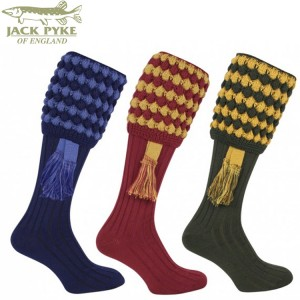 Jack Pike Pebble Shooting Socks