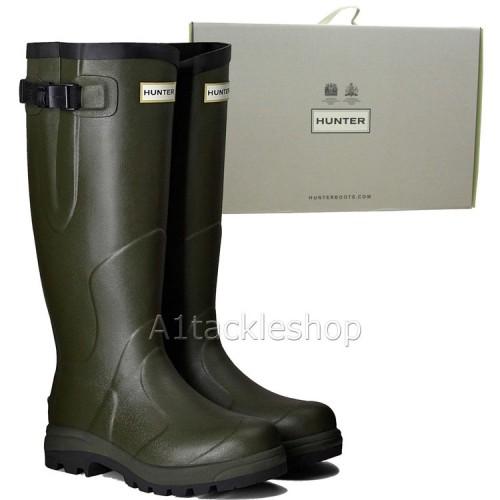 Hunter Balmoral Bamboo Carbon Boots