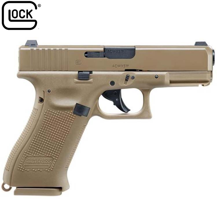 Glock 19X Gen 4 Blowback  177 (BB) co2 Air Pistol