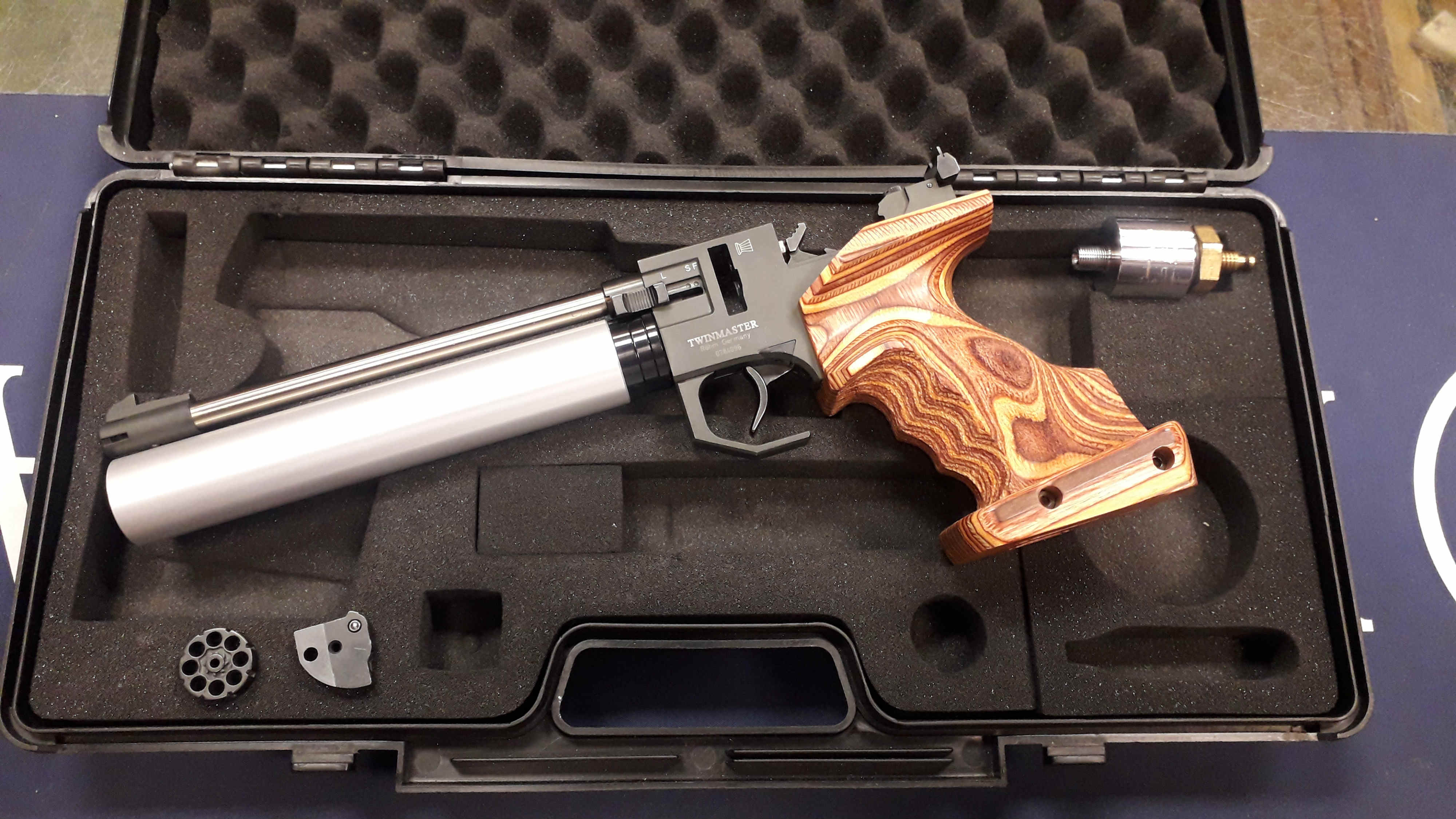 Used Rohm Twinmaster Top – LEFT HAND – Precharged Competition Air Pistol